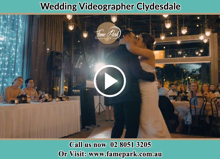 The new couple kissing on the dance floor Clydesdale NSW 2330