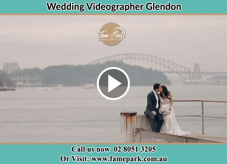 The new couple kissing near the shore Glendon NSW 2330