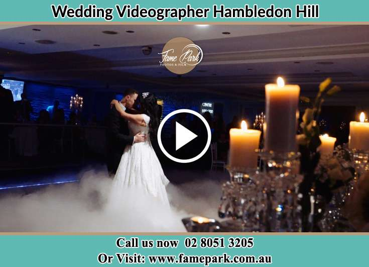 The new couple dancing on the dance floor Hambledon Hill NSW 2330