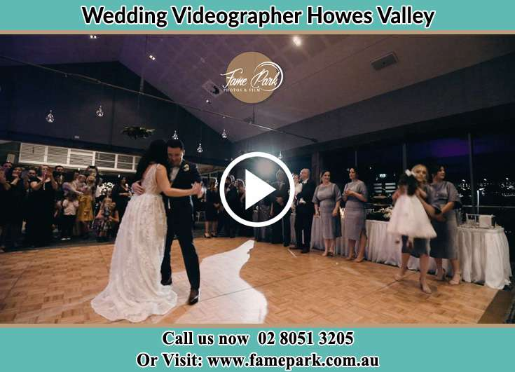 The new couple dancing on the dance floor Howes Valley NSW 2330