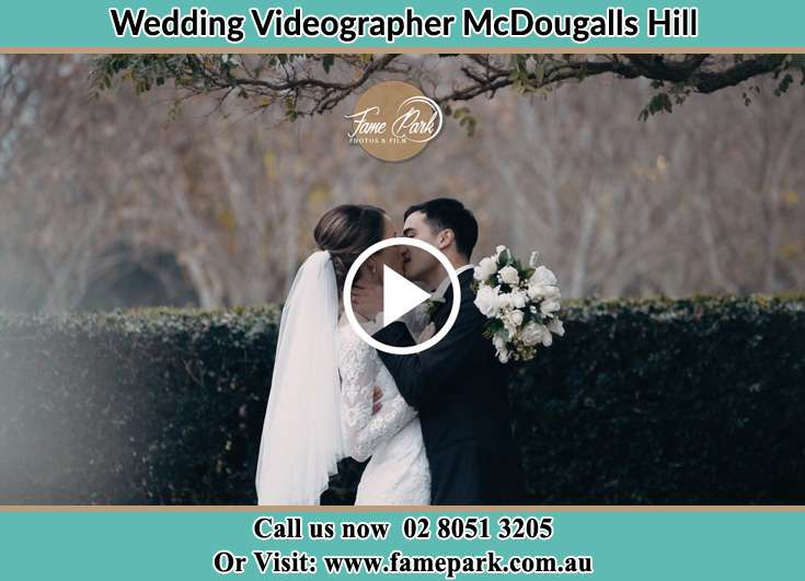 The new couple kissing McDougalls Hill NSW 2330