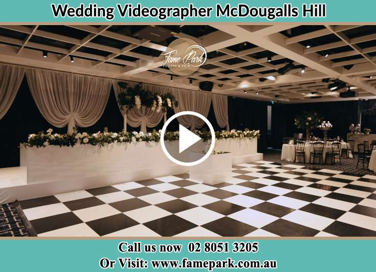 The wedding reception venue McDougalls Hill NSW 2330