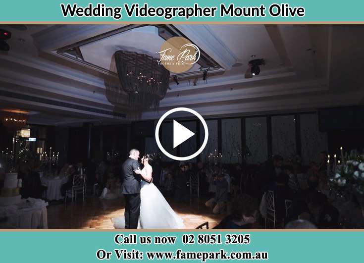 The new couple dancing on the dance floor Mount Olive NSW 2330