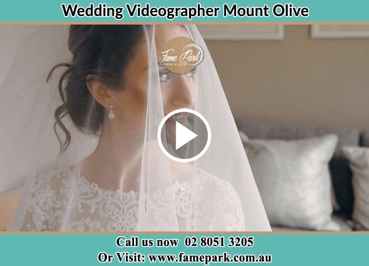 The Bride smiles for the camera Mount Olive NSW 2330