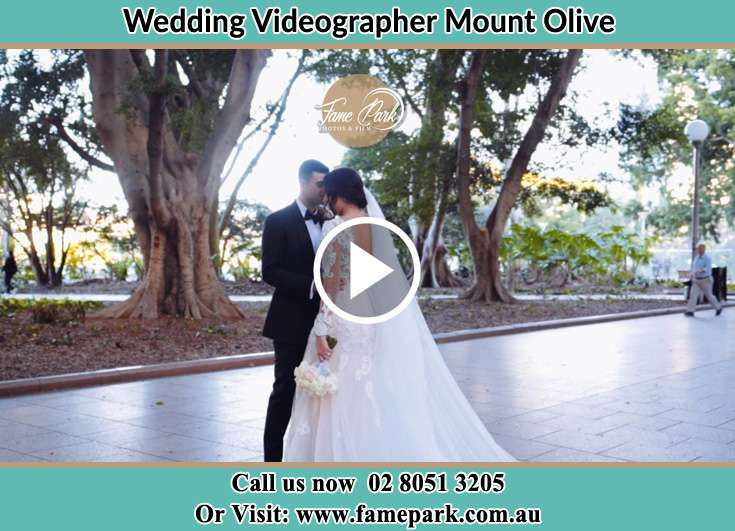 The Groom and the Bride close to each other Mount Olive NSW 2330