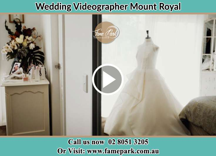 The wedding gown Mount Royal NSW 2330