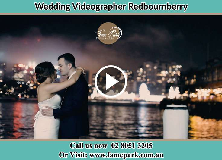 Bride and Groom looking at each other at the bay Redbournberry NSW 2330
