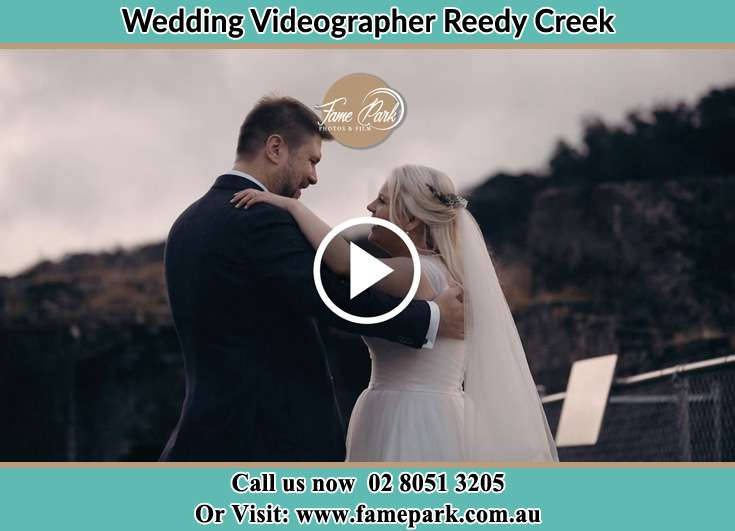 Bride and Groom looking at each other Reedy Creek NSW 2330