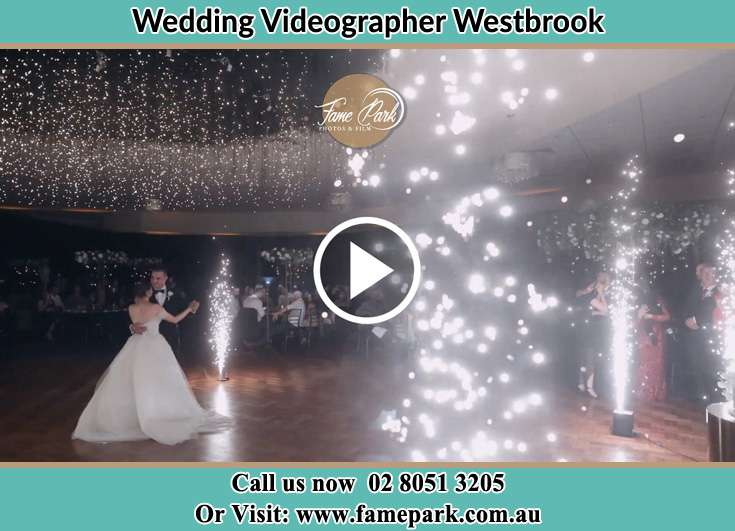 The new couple dancing on the dance floor Westbrook NSW 2330